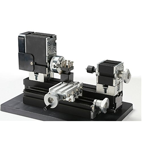 ELEOPTION(TM) Miniature Metal Lathe Machine DIY 20000Rev/min Multifunction 12V 60W by Eleoption