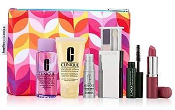 Clinique 7pc Skincare Makeup Gift Set Pink