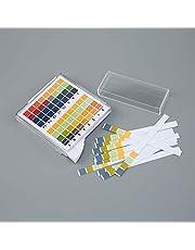 ZOUJIN 100pcs 0-14 pH Test Strips Alkaline Paper Litmus Tester Acid-base indicator