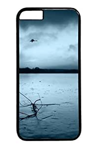 Case For Iphone 4/4S Cover Geese Flying PC for Case For Iphone 4/4S Cover inch Black