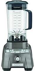 Cuisinart introduces its most powerful blender ever. The Hurricane Pro has a commercially-rated 3.5 Peak HP motor and professional features that let it outperform every blender in its class. Innovative BlendLogix technology ensures consistent...