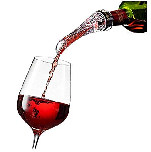 Vertedor de aireador de vino: vertedor de aireación de calidad superior y decantador