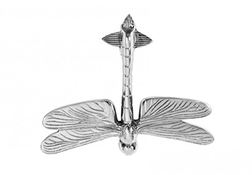 Door Knockers Chrome Dragonfly Door Knocker 4 7/8H X 6 3/8W