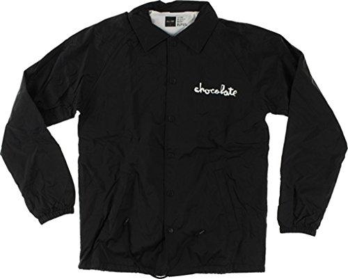 Chocolate Chunk Coach Jacket Xlarge Black Skate Jackets