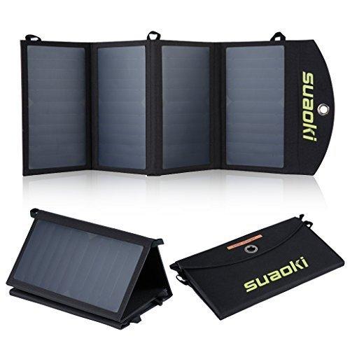 Suaoki-Portable-25W-20W-Solar-Charger