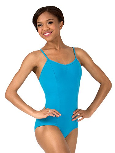 - Womens Pinch Front Camisole Leotard TH5532BLKS Black Small