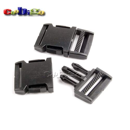 Buckes - 100pcs Pack 1-1/4''(30mm) Side Release Buckle for Outdoor Sports Bags Students Bags Luggage #FLC373-30