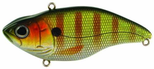 Crankbait Perch (Spro SAS75PCH Aruku Shad 75 Bait, 3-Inch, 5/8-Ounce, Perch)