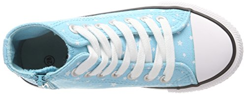 Canadians Mädchen 833 351 Hohe Sneaker Türkis (Turquoise)