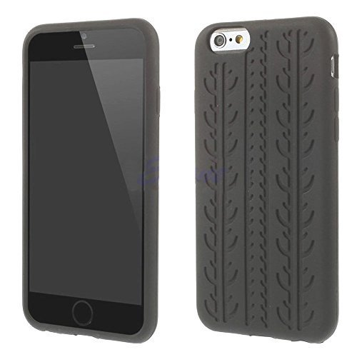Case con Struttura del pneumatico per apple iPhone 6 / 6S con 4,7 Pollici, Custodia In silicone silicone Pelle Profilo pneumatico Pneumatici ormskirk