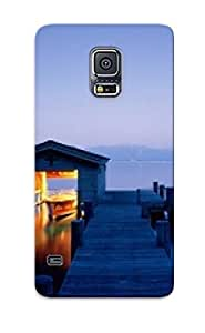Hot Lake Tahoe Snap-on Quiet Getaway, Lake Tahoe, Nevada Hard Night Cover Case/lake Tahoe Protective Case For Galaxy S5