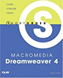 img - for Short Order Macromedia Dreamweaver 4 book / textbook / text book
