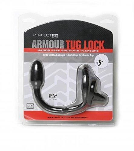 Armour Tug - Lock - Medium Plug - Tug Black 00db93
