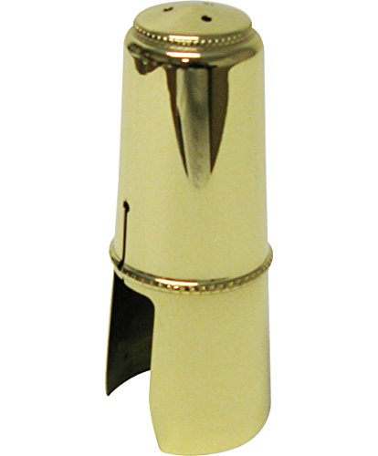 Bonade Tenor Saxophone Ligatures and Caps Lacquer - Inverted - Cap Only by Bonade