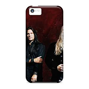 Bumper Cell-phone Hard Cover For Apple Iphone 5c With Support Your Personal Customized HD Megadeth Band Skin WayneSnook