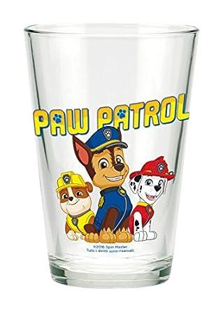 Paw Patrol La Patrulla Canina 3er Set 3 Vasos Cristal 23,7 Cl (Suncity PPA102049), carbón, 15 x 25 x 12 cm: Amazon.es: Hogar