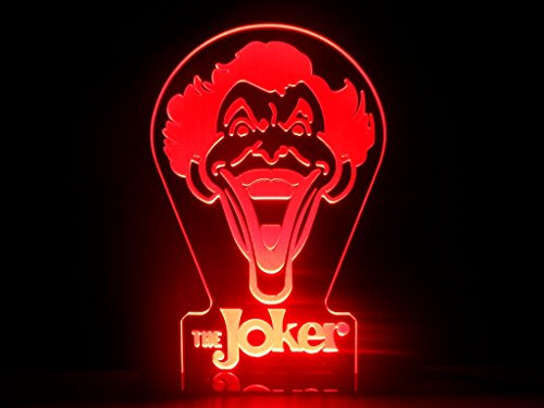 Comics+3D+Night+Lamp+ Products : The Joker LED Night Light Desk Lamp DC Comics Batman Room Decor