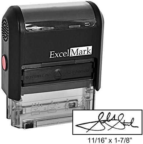 Custom Signature Stamp Inking Black product image