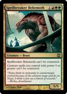 Behemoth Foil (Magic: the Gathering - Spellbreaker Behemoth - Alara Reborn - Foil)