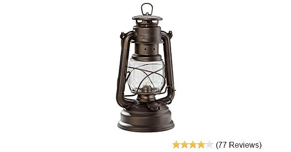 Storm Lantern Feuerhand 276 Galvanized Kerosene Lamp