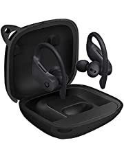 powerbeats pro Silicone Case Cover Flexible Scratch Shock Resistant (Black)