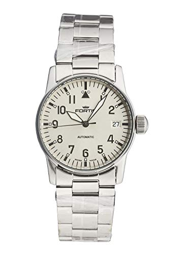 Fortis Ladies-Wristwatch Aviatis Flieger Lady Date Analog Automatic 621.10.12 M