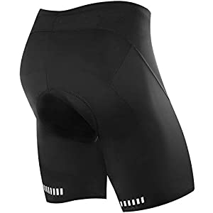 (Shop Deals of the Day) NOOYME Mens Cycling Shorts 3D Gel Padded MEN'S BIKE SHORTS (XX-Large, Black)