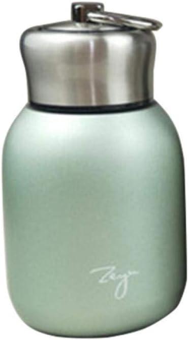 xuanyanhu Mini frascos de vacío de café de 300ML de Moda Termos de Acero Inoxidable Preciosos Tazas portátiles de Botellas de Agua de Viaje