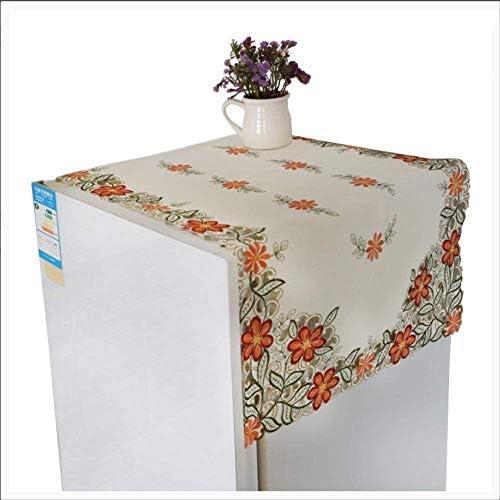 冷蔵庫用ダストカバー洗濯機用カバーユニバーサルカバータオルダストカバーダストカバーテーブルクロスアンチオイルファブリック110 * 110 Cm