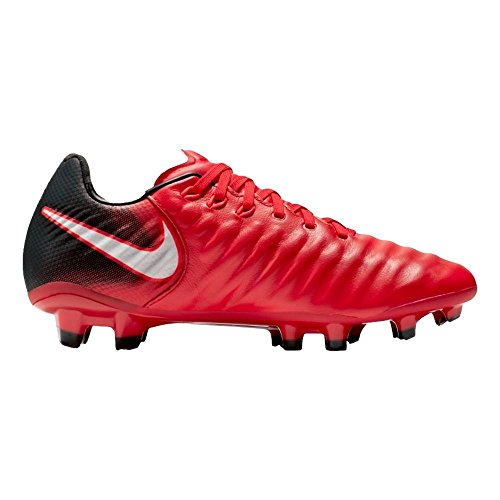 Pictures of NIKE Youth Tiempo Legend VII FG Cleats [ 897728 University Red 4.5 M US Big Kid 3