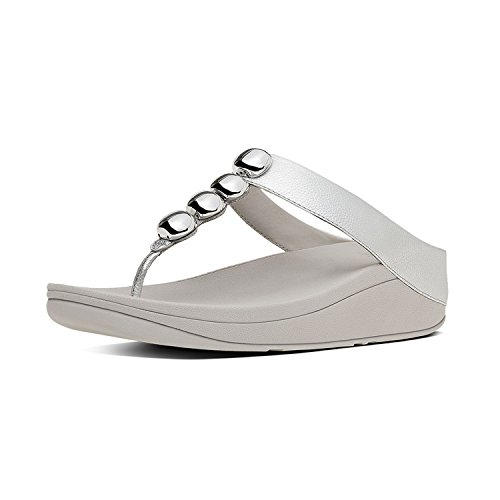 Fitflop Rola - Argento Pelle Metall