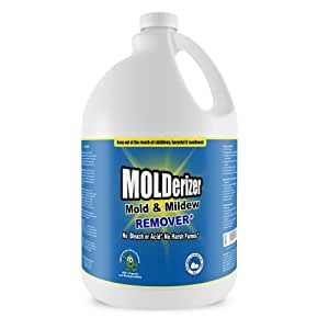 Molderizer 100% Organic Mold and Mildew Remover That Breaks Apart DNA of Mold Spores