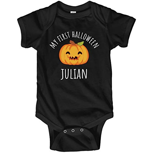FUNNYSHIRTS.ORG My First Halloween Julian: Infant Bodysuit -
