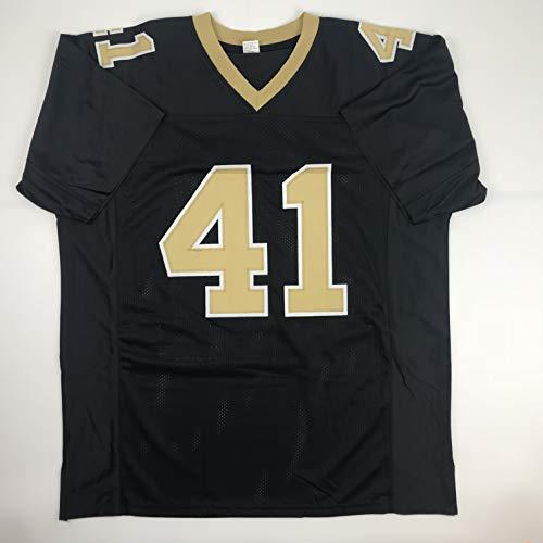 brand new f4b2c 69d82 Unsigned Alvin Kamara New Orleans Black Custom Stitched Football Jersey  Size Men's XL New No Brands/Logos