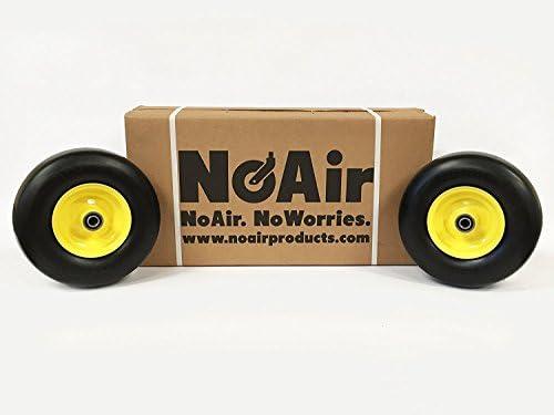 NoAir (2) John Deere Flat Free Tire Assemblies 11x4  00x5
