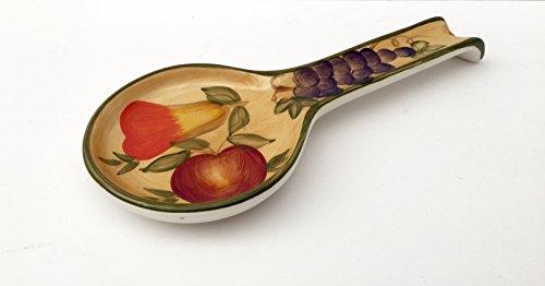 Kitchen Collection Ceramic Spoon Rest - 4