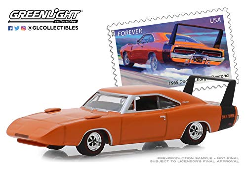 GreenLight 1: 64 1969 Dodge Charger Daytona - United States Postal Service (USPS) America On The Move: Muscle Cars (30068)