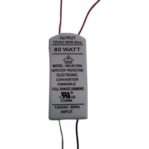 - NSL XTL1280W Task Light Transformer 120 Volt Primary 12 Volt Secondary 80 Watt