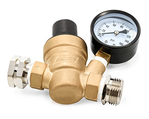 camco 40058 adjustable brass water pressure regulator new ebay. Black Bedroom Furniture Sets. Home Design Ideas