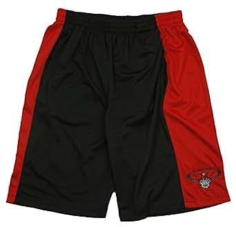 Atlanta Hawks NBA Youth Zipway Mesh Shorts, Black (Small (8))