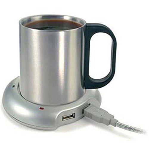 LEORX Tassenwärmer Portable USB beheizte Becher Tasse wärmer Heizkissen
