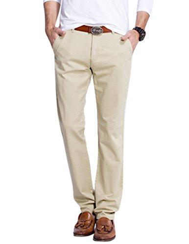 Match Men's Slim Straight Fit Casual Pants