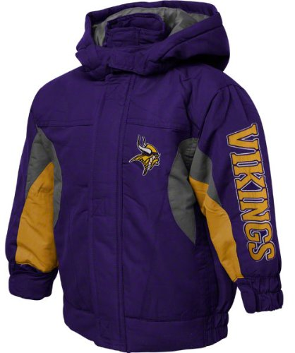 best service 73502 7bf90 Amazon.com: Minnesota Vikings NFL Boys, Youth Winter Jacket ...