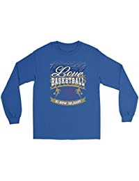 Love Basketball Go New Orleans Fan Gifts Ideas Gradient Cool Soft Long Sleeve