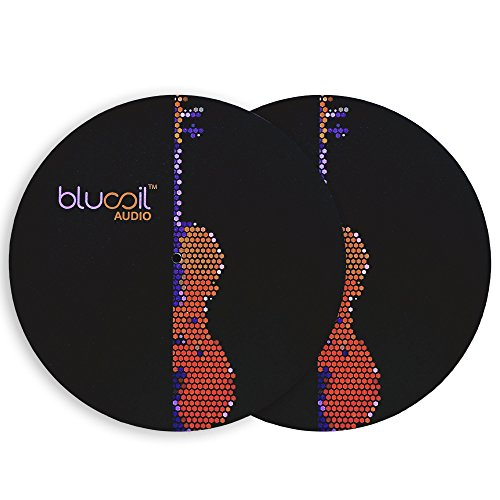 blucoil-audio-turntable-slipmat-for-dj-ing-and-record-lp-protection-2-pack