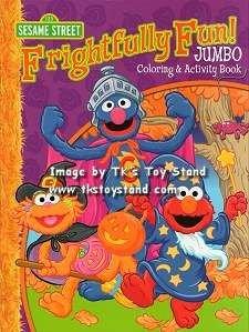 Sesame Street Halloween Jumbo Coloring & Activity Book -