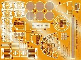 ParaGrafix Fine Molds Millennium Falcon etching [parallel import goods] (Fine Molds Millennium Falcon)