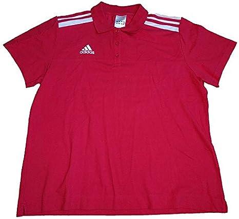 adidas Camisa de Polo de Rayas de algodón para Mujer (tamaño: XL): Amazon.es: Deportes y aire libre
