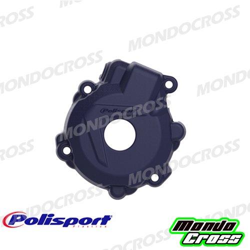 MONDOCROSS Protezione coperchio generatore POLISPORT Blu HUSQVARNA 250 FE 14-16 350 FE 14-16