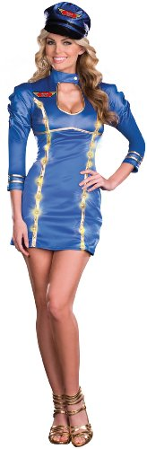 Dreamgirl - Come Fly With Me Adult Costume - Small - Blue